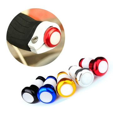Cycling LED Bar End Plugs Safety Signals Bike Handlebar Light