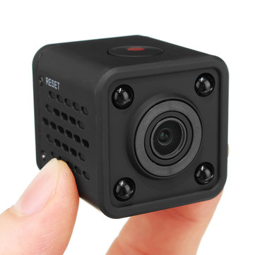 HDQ9 HD 720P Wireless WIFI Mini Camera HD Hidden Pinhole Camcorder 120° Night Vision
