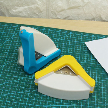 DIY R5 Plastic Corner Rounder Paper Punch Card Photo Cutter Tool Home Decoration Scrapbooking