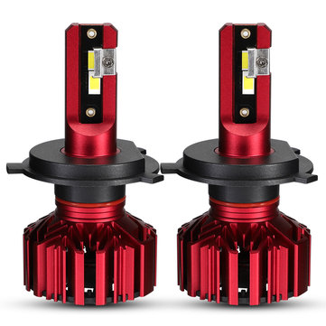 Pair NovSight A500-N11 60W 10000LM LED Car Headlights Bulbs H1 H3 H4 H7 H11 9005 9006 6000K White
