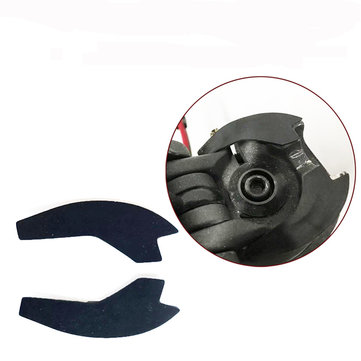 Updated 1.3mm Rubber Anti Vibration Steering Pads For Xiaomi Mijia M365 M187 Scooter