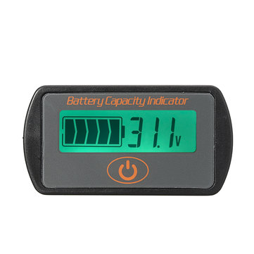 7.4V-56V Li-ion Battery Capacity Meter Tester Voltage Indicator LCD Monitor