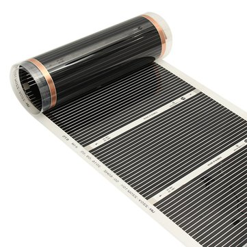 50CMx3M 220V Far Infrared Floor Heating Film Crystal Carbon Fiber Underfloor Heating Film
