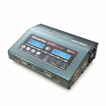 SKYRC D400 Ultimate Duo 400W AC/DC Balance Charger Discharger