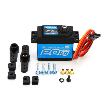Power HD LW-20MG Waterproof High-Torque Metal Teeth Digital Servo For Smart Robot Car & Robot
