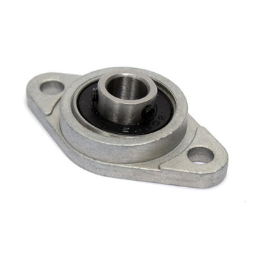 8mm Inner Diameter Zinc Alloy Pillow Block Flange Bearing KFL08