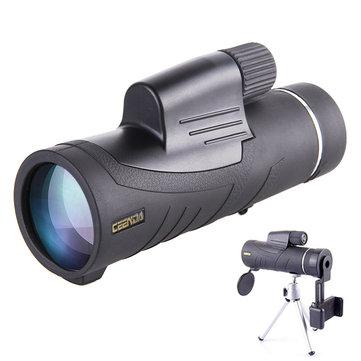 PANDA 10X42 Monocular Handheld Telescope HD Optic Wide Angle Eyepiece Night Vision Lens