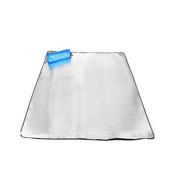 Camping Hiking Moisture Proof Mat Tent Picnic Mat Pad Aluminium Film Double Sided