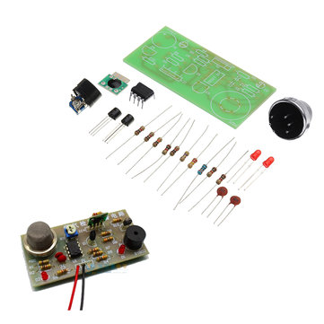 DIY MQ5 Gas Detection Alarm Circuit Kit Gas Sensor Module Kit