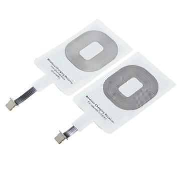Qi Carregador sem fio Carregador Receptor Carregador Tapete para Iphone 5S 5C 6 6plus