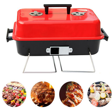 IPRee™ Portable BBQ Grill Rack Stove Picnic Charcoal Meat Cooking Machine
