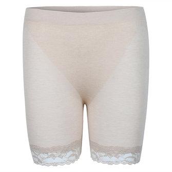 Mulheres confortáveis lace modais calcinha finas respiráveis empurrar para cima calças de segurança