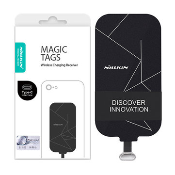 Nillkin Universal Type-C Short Head Receiver Magic Tags Qi Wireless Charger Receiver