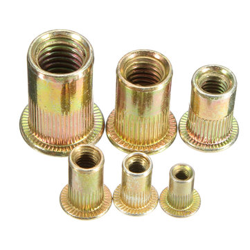 Brass Threaded Steel Rivnuts Blindnuts Nutserts Nuts Insert Rivet
