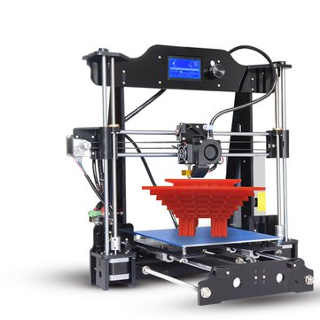 TRONXY® X8 Desktop DIY 3D Printer Kit 220x220x200mm Printing Size Support Off-line Print With Dual Fans 1.75mm 0.4mm Nozzle