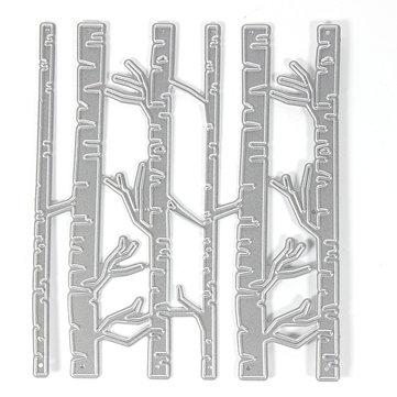 12x10cm Bamboo Pattern Scrapbooking DIY Album Card Paper Diary Craft Maker Metal Cutting Die
