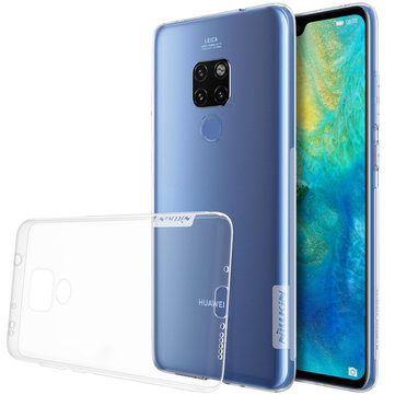 NILLKIN Transparent Shockproof Anti-slip Soft TPU Back Cover Protective Case for Huawei Mate 20