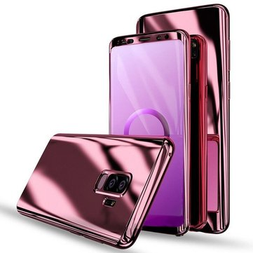 Bakeey Plating 360° Full Body PC Front+Back Cover Protective Case+HD Film For Samsung Galaxy S9/S9 Plus