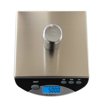 0.1g / 2000g And 1g / 6000g 500I Accurate Electronic Scale Weighing Waterproof Stainless Steel Kitchen Portable Scale Cake Baking Scale Accurate Measurement
