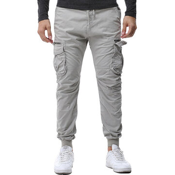 Mens Casual Pockets Cargo Pants