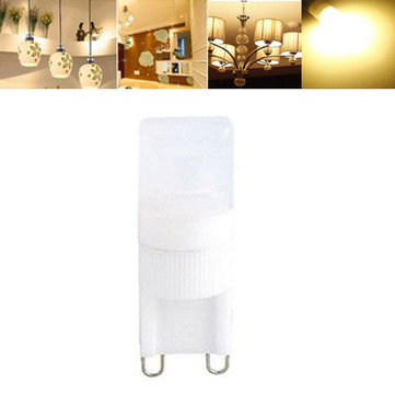 G9 1.8W Dimmable LED Warm White Ceramic Capsule Light Bulb AC220V
