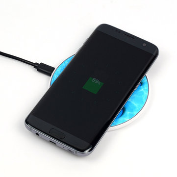 NW180 QI Standard 5V 1A Wireless Charging Pad For Samsung S6 S6 Edge S7 S7 Edge