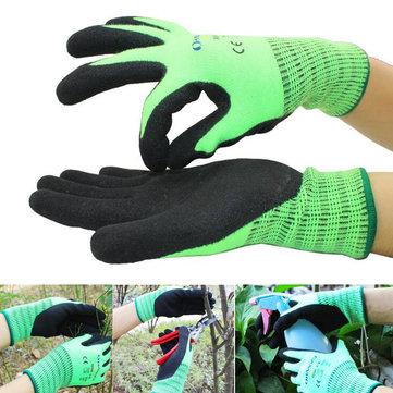 Садоводство На открытом воздухе Утолщенный Теплый Перчатки Матовая нитриловая рабочая рабочая защитная перчатка