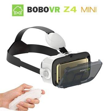 Mini realtà virtuale VR occhiali 3d di gioco coinvolgente di video a 120 gradi occhiali teatro privato Z4 bobo