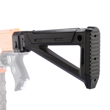 WORKER F10555 Foldable AK Mold Shoulder Stock Tail Stock Part For Nerf N-strike Elite Series