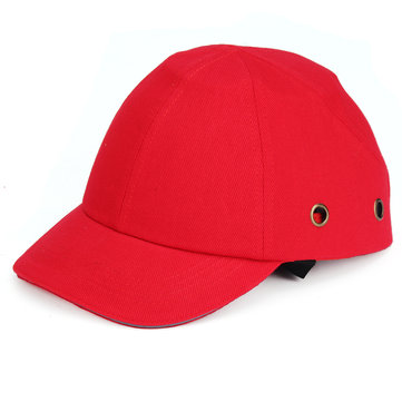 Half Face Helmet Baseball Style Hard Hat Vent Cool Protective Bump Cap Safety Workwear