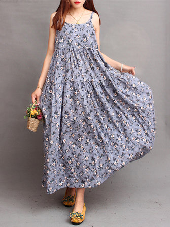 Floral Printed Summer Dress