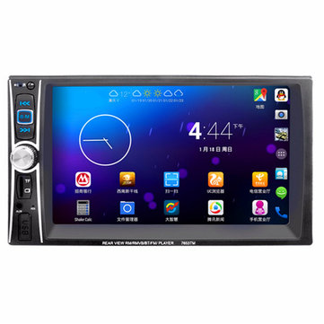 7653 7 дюймов 2 Din In Dash Touch Screen Bluetooth Стерео Авто MP5-плеер FM USB Aux камера