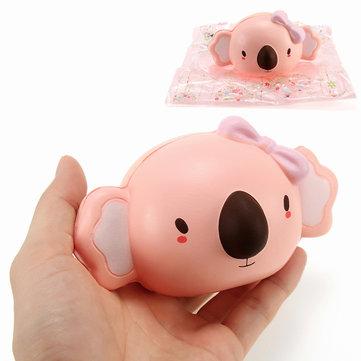 아니 Squishy 코알라 곰 천천히 상승 포장 컬렉션 선물 장식 소프트 짜기 장난감