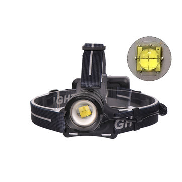 XANES® 1000LM 30W Chip XHP70 LED Headlamp 3 Modes Zoomable Light Rechargeable Camping Hunting Emergency Lantern