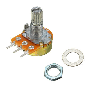 5pcs 200V 0.2W 1K Ohm Potentiometer Single Linear