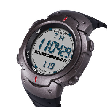 SANDA 269 Digital Watch Luminous Motion Timing Stopwatch Calendar Alarm Watch Outdoor Sport Watch