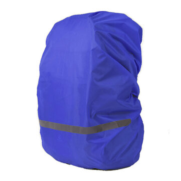30-40L Backpack Rain Cover Waterproof Reflective Bag Cover Camping Mud Dust Rainproof Protector