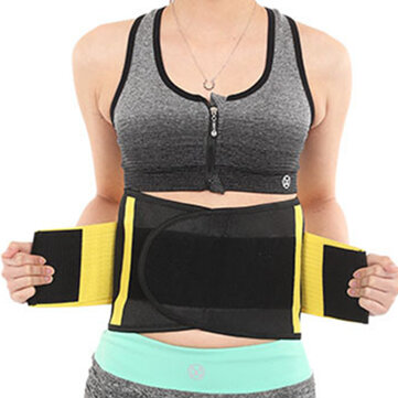 Womens Stretchable Sport Waist Belt Reduce Belly Body Sculpting Breathable Waistband