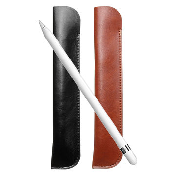 Universal Leather Case Cover Sleeve Pouch for Apple iPad Pro Pencil Stylus Pens