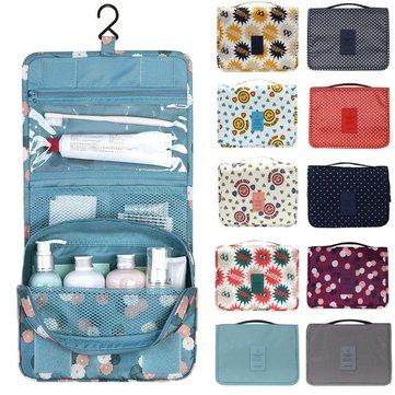 Honana BX-111 방수 여행 워시 화장품 가방 컴팩트 큐브 파우치 스토리지 백 메쉬 주최자