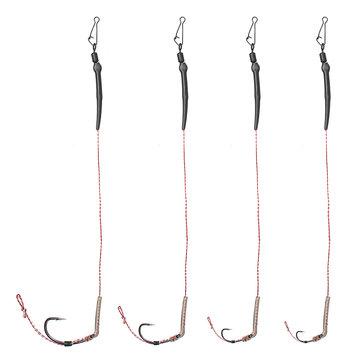 ZANLURE CR-G007 2 4 6 8# High Carbon Steel Barbed Carp Fishing Hook All Freshwater Fishing Hooks