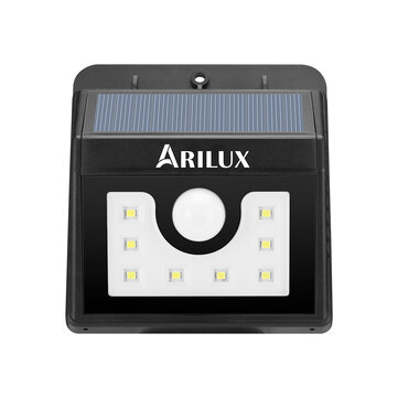 ARILUX® AL-SL 01 Super Bright 8 LED Solar PIR Motion Sensor Light Waterproof Outdoor Security Lamp