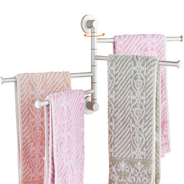 Polished Rack Holder Hardware Accessory Towel Bar Rotating Rack Bathroom Kitchen Towel