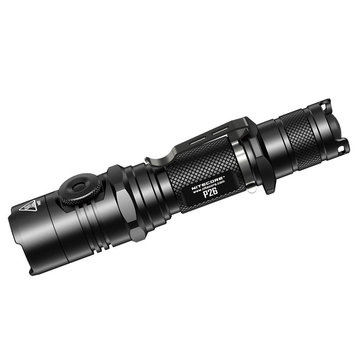 Nitecore P26 XP-L HI V3 1000Lumens 3Modes Stepless Dimming Dual-switch Tactical LED Flashlight 18650