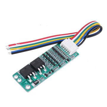 5S 15A Li-ion Lithium Battery BMS 18650 Charging Protection Board 18V 21V Circuit Short Current Cell Protection Module