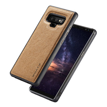 WHATIF Kraft Paper Shockproof Protective Case For Samsung Galaxy Note 9