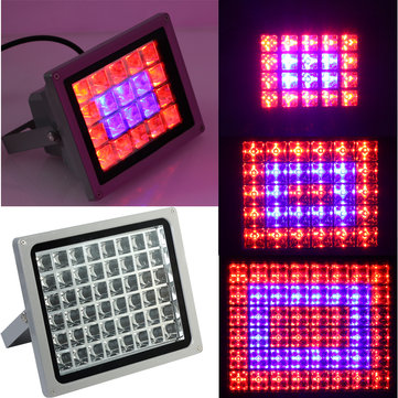 20/30/50W High Power Plant LED Grow Lamp Grid Spotlights Indoor Flowers Growth Light Red Blue Lights