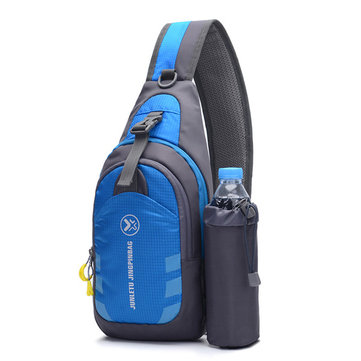 Mannen 638.851 Ultralight Waterproof Sling Bag Daypack Fiets Gym Crossbody Bag Met Water Bottle Holder