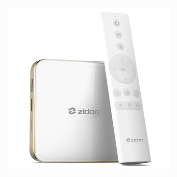 ZIDOO H6 PRO AllWinner H6 2GB DDR4 RAM 16GB ROM 5.0G WIFI 1000M LAN Bluetooth 4.1 USB3.0 TV Box