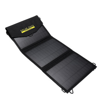 Folding 10W Solar Panel Pack Charger Waterproof Portable Battery Power Bank Bag